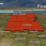 Fire ban issued for all of northern #Sask due to extreme wildfire hazards. Details @6: https://t.co/YFHgbb6qUI #yxe https://t.co/x4LMTR1Dno