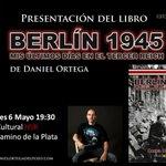 Esta tarde presentación de Berlín 1945. ¡No te lo pierdas! @HSRlibrerias #Burgos #Historia #libros #novela RT FAV https://t.co/CPEIaRON4x