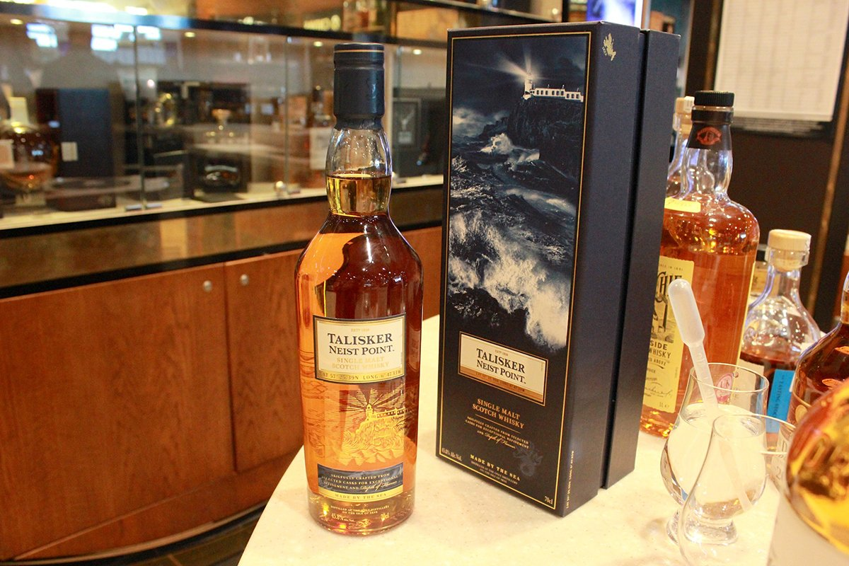 Extra refined, sweet, smoky and a full finish. Try Talisker Neist Point in @WorldDutyFree
