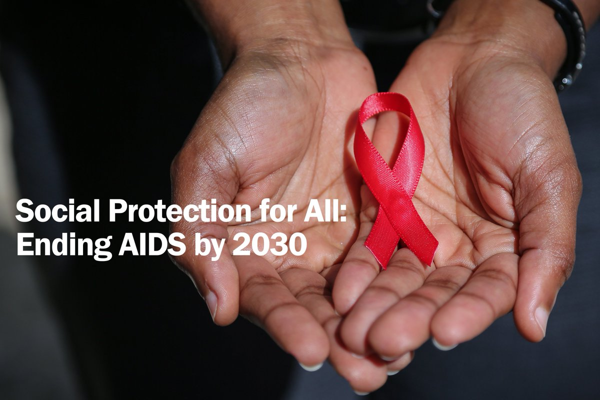 Join us on 25 May to discuss how #SocialProtection can contribute to end AIDS by 2030: https://t.co/CHrmupZRz9 https://t.co/UOR4d20v4R