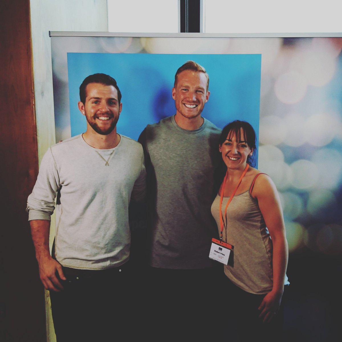 """Our video producer Abi met Greg Rutherford prior to this evening's <a href=""""http://twitter.com/search?q=CityGames2016"""" target=""""_blank"""" rel=""""nofollow"""">#CityGames2016</a>! <a href=""""http://twitter.com/search?q=manchester"""" target=""""_blank"""" rel=""""nofollow"""">#manchester</a> <a href=""""http://www.twitter.com/great_run"""" target=""""_blank"""" rel=""""nofollow"""">@great_run</a>"""