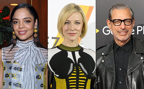 Cate Blanchett, Jeff Goldblum, and more join the cast of Marvel's 'Thor: Ragnarok': 😱