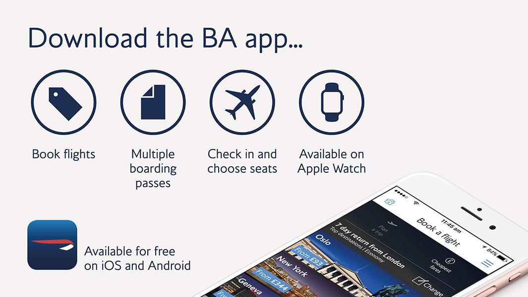 Travelling with family or friends? You can now view multiple boarding passes on our app