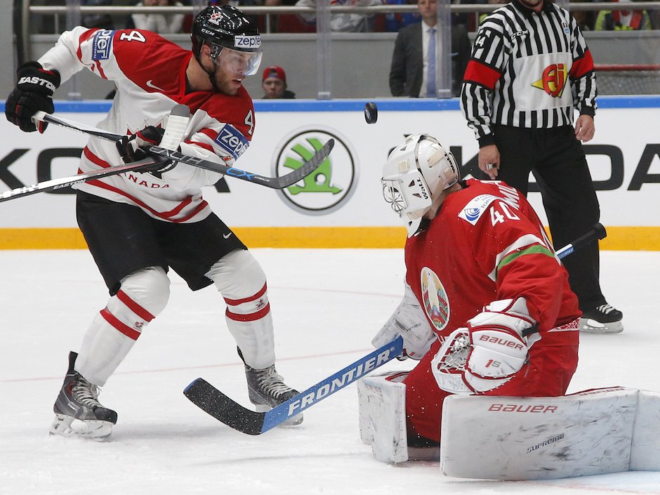 Canada keeps rolling at world hockey championship with rout of Belarus via @npsport
