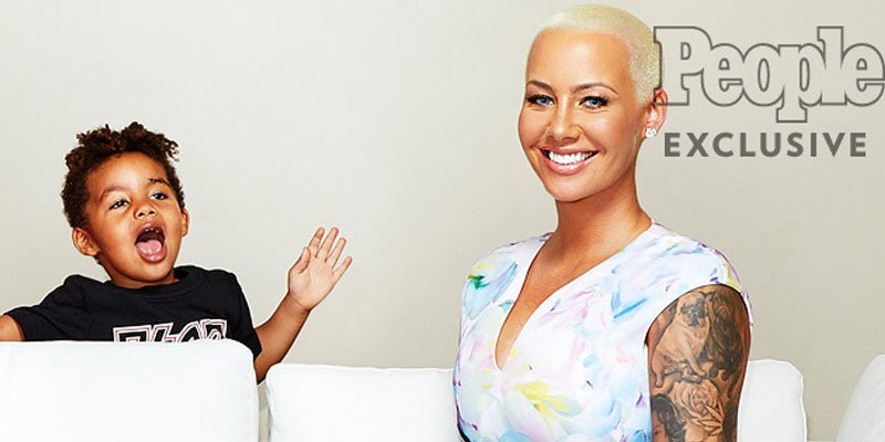 Amber Rose reveals how she really feels when people criticize her for being a sexy mom