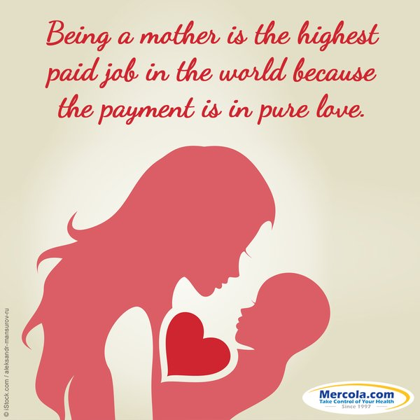being a mother is the highest paid job in the world because the
