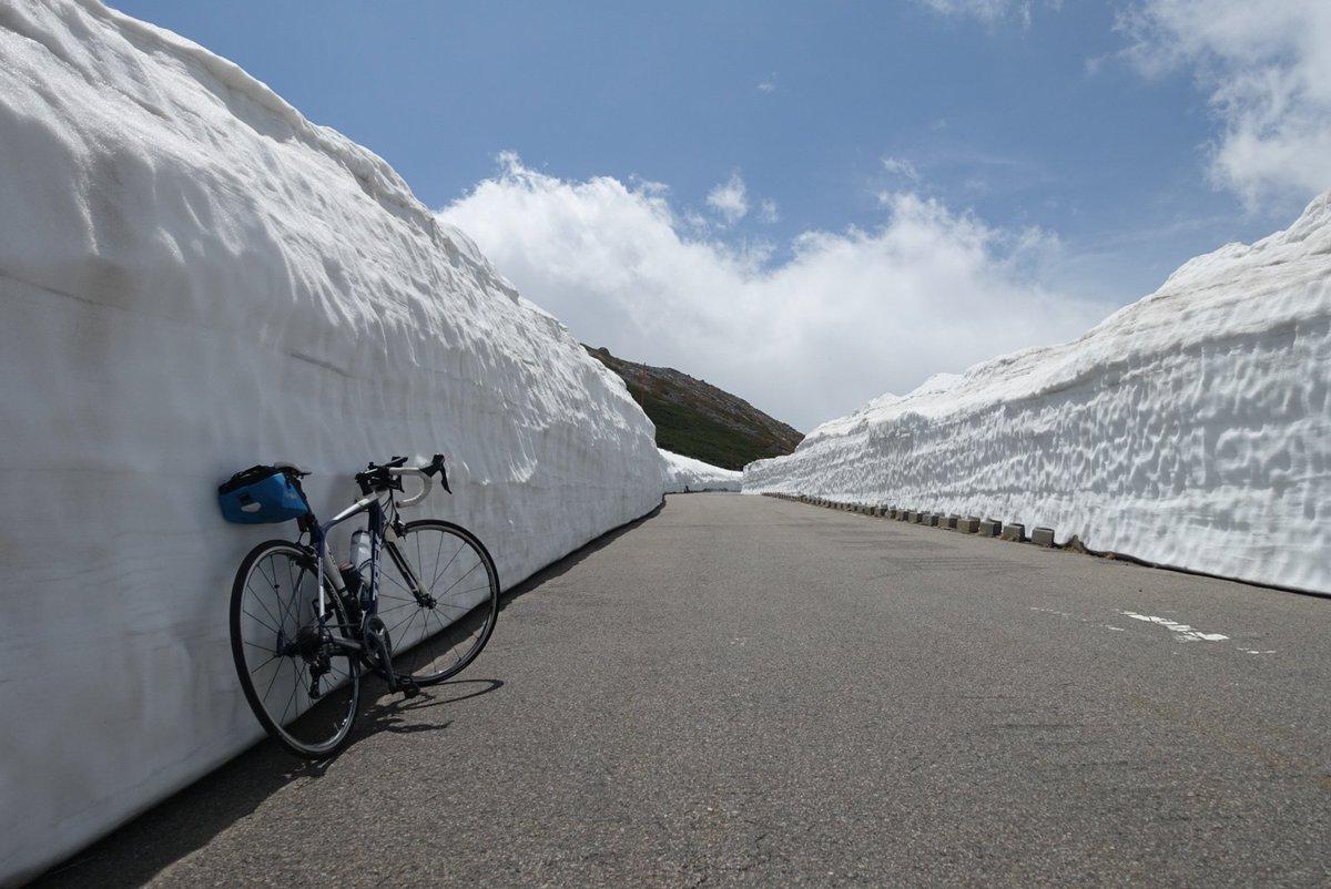 雪の壁。 https://t.co/97Cwu6NhCT