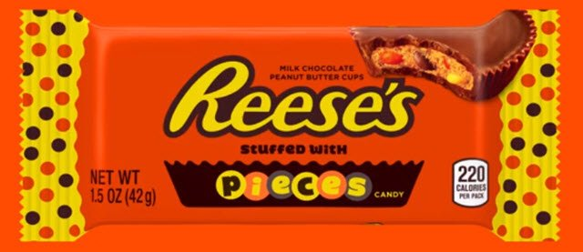 Hershey's has confirmed it will be launching Reese's Stuffed with Pieces candy https://t.co/yknXXRvu1Z https://t.co/NwDNmZFLZG