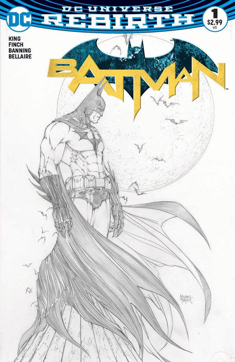 Aspn variant to Batman #1 feat an illustration of the Dark Knight by #AspenComics co-founder artist, Michael Turner! https://t.co/1JiLyempVw