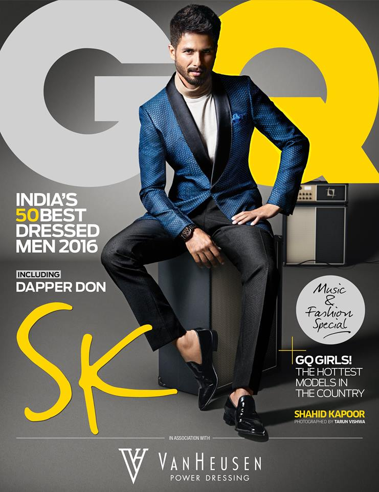 A special issue deserves an exceptional cover star. Introducing #GQBestDressed mascot @shahidkapoor. https://t.co/sCur5RSixy