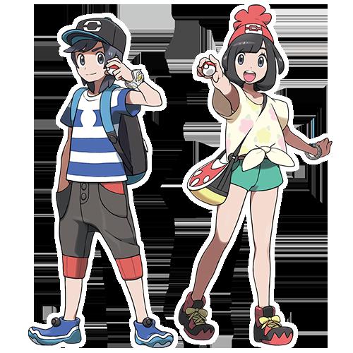 Pokemon Sun and Moon character portraits: https://t.co/eBAAiemlqC https://t.co/ZfCJWvaVUe