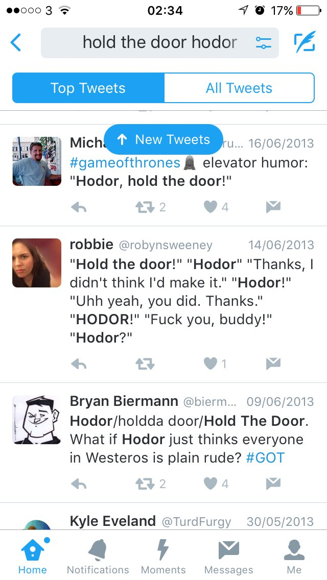 Tweets from 3 years ago... #holdthedoor https://t.co/FtihF3XcPG