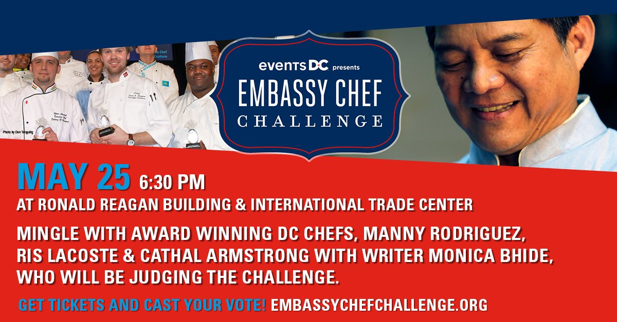 Join Chef Manny (Kapnos Taverna) & other DC chefs on May 25 at the