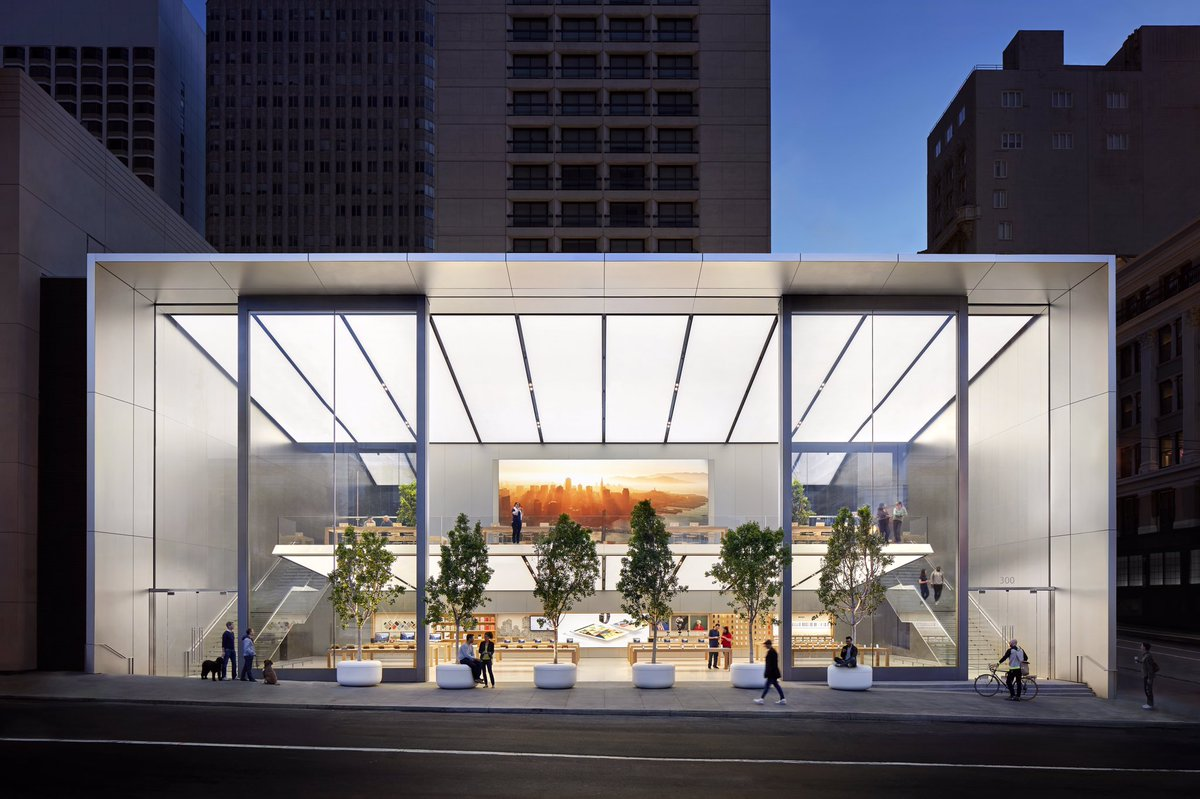 Thrilled about Apple Union Sq, the next generation store designed to entertain, educate and inspire our community. https://t.co/soLAOr6Oow