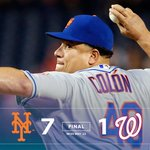 #METSWIN!!! We hit 3 home runs to take the series opener 7-1! #Mets https://t.co/ro82gRDBpr