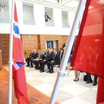 Inauguracja, przez Prezydenta RP i Króla Norwegii Haralda V, Polsko-Norweskiego Forum Gospodarczego. >> Oslo https://t.co/8h0M68D3D7