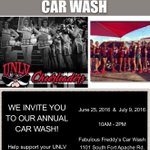 UNLV Cheer Car Wash! All donations go to the UNLV Cheerleading Program! Your support is greatly appreciated! https://t.co/MienKfXrrx