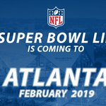 #SB53 will be played in ATLANTA! #SBSelection https://t.co/iu6TZE1IR2