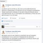 Becarios FUNDACIÓN JOSÉ ORTÍZ ÁVILA, A.C. Les compartimos el aviso de la página de Facebook de la Fundación: https://t.co/abwCpdVaAj
