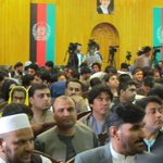 More than 400 hundred journos are present at the #JournoCodeofEthics convention #Afghanistan https://t.co/mif00nUPfN