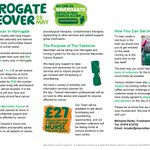 Harrogate takeover day for Macmillans, on Saturday, can you get involved ? https://t.co/WVBKp4nrqm