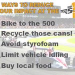 Here are 5 simple ways to reduce your impact at the #Indy500 https://t.co/FabR5VyXr2