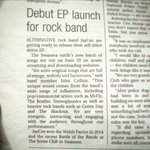 Managed to bag ourselves a little write up in the @SWEveningPost today regarding our EP Launch Show! https://t.co/8DROBiU31x