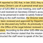 Wow: 2 State staffers raised concerns re HRCs server: were told never to do so again b/c it was approved: false https://t.co/IiPH7wie6k