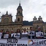 En este momento apoyamos el plantón por la libertad de @saludhernandezm y de todos los secuestrados del país. https://t.co/VF8s0B4B6j