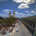 40° C y sensación térmica de 46° C en San Francisco de #Campeche. Vista actual: https://t.co/kr16W37KkU