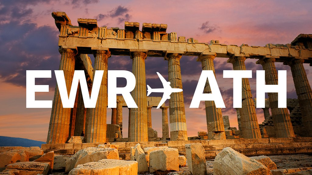 Our seasonal route between Newark and Athens is back. Visit the Acropolis this summer!