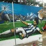 [Destacado] Así homenajean los hinchas de Talleres de Córdoba a Rodrigo Burgos, quien es figura e ídolo de su equipo https://t.co/Xkklto6r7k