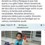 POR FAVOOOR COMPARTAN! Ayuda para esta familia! RT RT RT https://t.co/JUVfrGVzA3