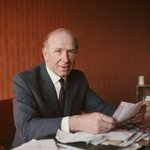 The great Sir Matt Busby was born on this day in 1909. #mufc https://t.co/aceajJ220j