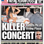 Todays cover: One dead, 3 injured after a shooting at a T.I. concert https://t.co/uuS7PHodMx https://t.co/ZNJT2DxkBt