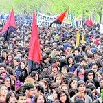 AHORA: Comienzan disturbios en marcha no autorizada por el centro de Santiago https://t.co/uPW4LLi3UZ https://t.co/VcElEf0Mw1