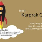 La startup franco-cambodgienne KarPrak, de prêt de particulier à particulier, a été sélectionnée pour le @RISEConfHQ https://t.co/6svbqehwwN