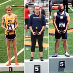 A strong day 1 at Outdoor Nationals with Darin Lau, Sam Anderson & Alex Mess earning All American honors #goblugolds https://t.co/SYNDDJBoBy