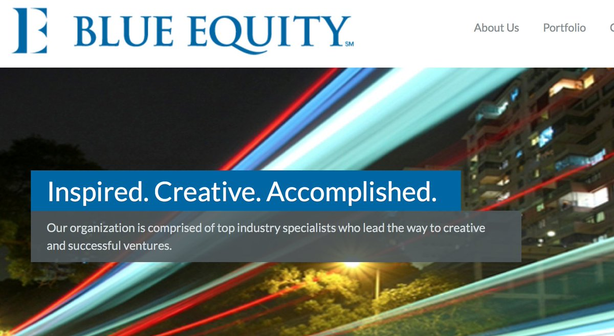 . @1CardsFan is at it again as Blue Equity acquires a broadcast talent agency. https://t.co/xwI3NJ9lCf https://t.co/5PKTDxexDU