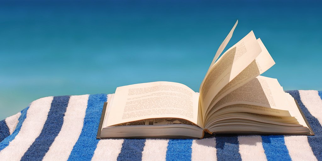Think of the beach as a sandy library. Bring one of these books on your getaway