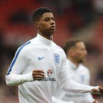 Marcus Rashford is the youngest player in history to score on his senior England debut (18 years and 208 days old). https://t.co/IBZpNuhO8q