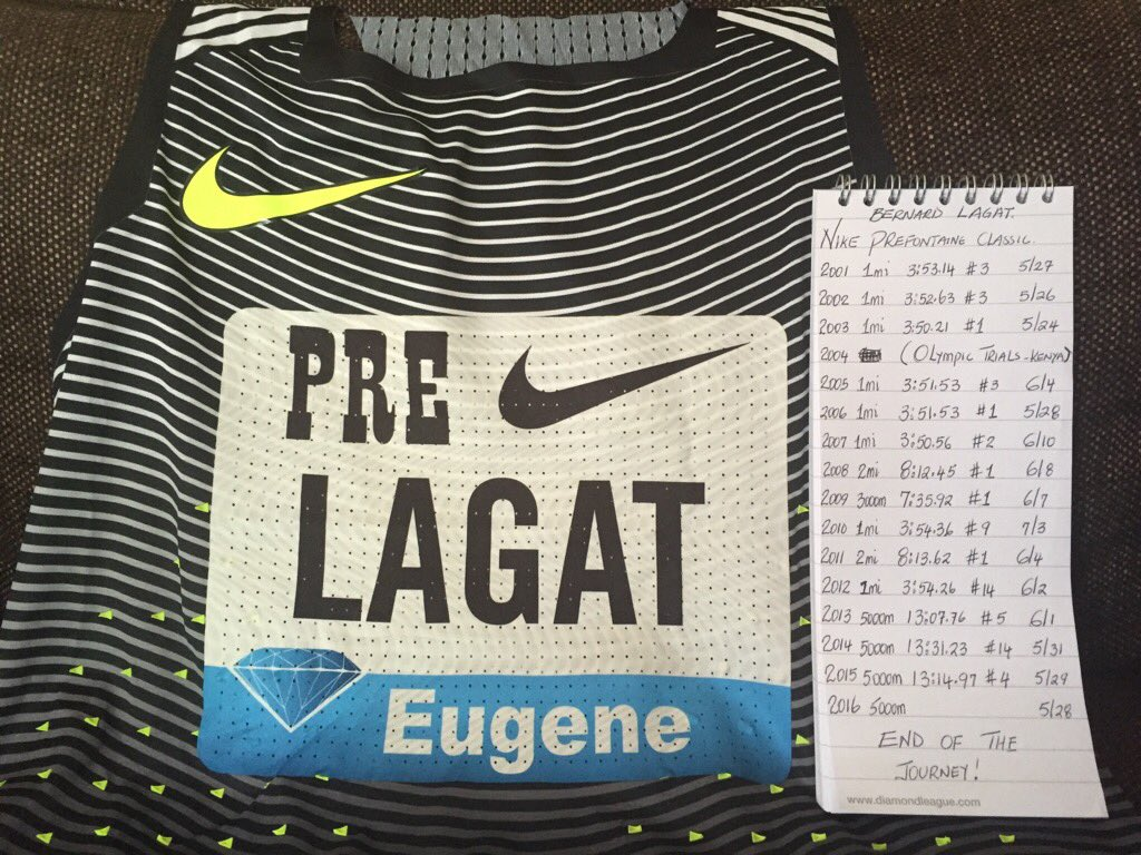 I'm in Eugene ready to compete at my last Nike Pre Classic. I thank my family, friends & fans 4 ur amazing support❤️ https://t.co/oPJqHPWbiX