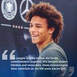 Leroy #Sané über die @UEFAEURO-Vorbereitung mit dem @DFB_Team in #Ascona. Mehr auf: https://t.co/4boXVzJXuo #S04 https://t.co/A0zMO4jJSD