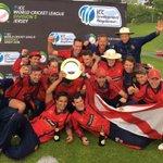 Cricket: Jersey celebrate winning World Cricket League Five #WCL5 https://t.co/f6HfJw9ZFY