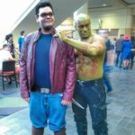 Found #starlord and #drax at #MegaCon2016. . #cosplay #gotg #guardiansofthegalaxy @jamesgu… https://t.co/NOYFLiNzTA https://t.co/YIbbVuT8NB