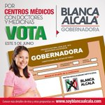 Mi voto es para @soyblancaalcala #BlancaMiGobernadora https://t.co/NaQHjuidLF