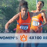 TICKET PUNCHED! Womens 4x100m relay advances to Eugene!! War Eagle! https://t.co/Aew6JJeZJ6