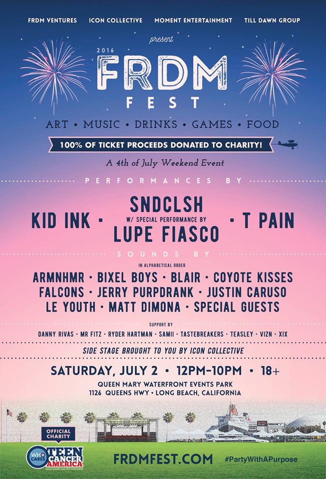 Tonight's your chance to win tickets to @frdmfest for 4th of July weekend! Retweet for a chance to win! https://t.co/P3hkdOF9eX