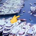 Shoutout tälle asenneäijälle, joka lähti katsomaan Monacon F1-kisaa kumiveneellä. #MTVf1 #goals https://t.co/wtzwS9tmBE