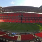 Two down, one to go - preparations underway to get Wembley ready for the @SkyBetLeague2 #PlayOffFinal tomorrow https://t.co/OQsN2M3OOu
